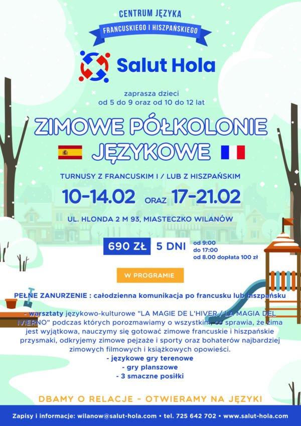 Obozy i półkolonie Wilanów - salut-hola.com